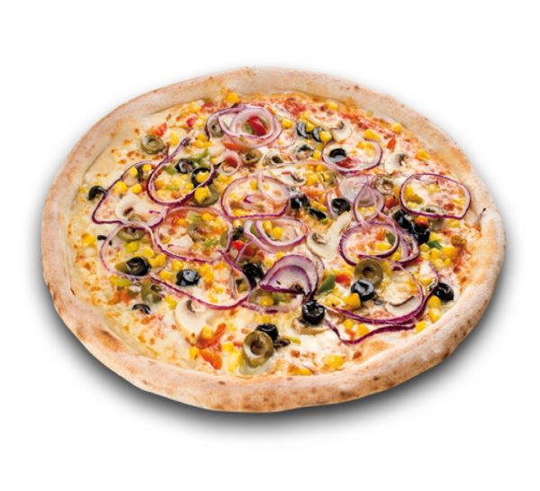 Pizza Vegetariana fresh
